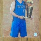 Jason Kidd Autographed 11x14 Dallas Mavericks PSA/DNA Certification # P61049