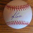 Melky Cabrera Autographed Official MLB Baseball Toronto Blue Jays JSA #H39956
