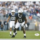 NaVorro Bowman Autographed 8x10 San Francisco 49ers/Penn St. JSA Certification #W543627