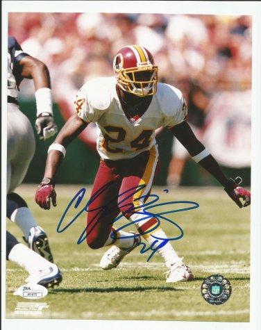 Champ Bailey Autographed 8x10 Washington Redskins/JSA Certification #J81675