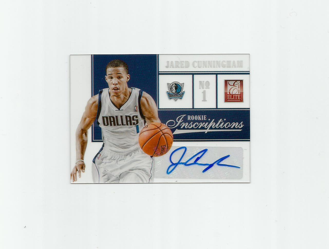 Jared Cunningham 2012-13 Panini Elite Rookie Inscriptions #24 Dallas Mavericks/Sacramento Kings