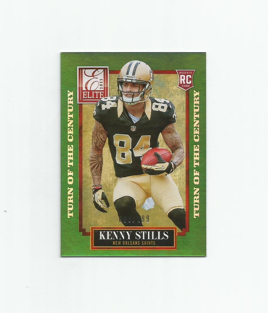 Kenny Stills 2013  Elite Turn of the Century Rookie #151 (080/199) New Orleans Saints/Miami Dolphins