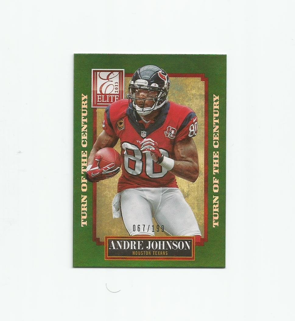 Andre Johnson 2013 Elite Turn of the Century #41 (067/199) Houston Texans/Indianapolis Colts