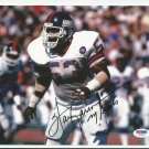 Harry Carson Autographed 8x10 New York Giants PSA/DNA Certification #Z55931