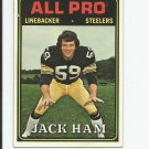 Jack Ham 1974 Topps All Pro #137 Pittsburgh Steelers