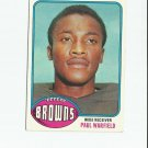 Paul Warfield 1976 Topps #317 Cleveland Browns