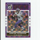Adrian Peterson 2016 Donruss Dominator #12 (714/999) Minnesota Vikings