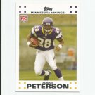 Adrian Peterson 2007 Topps Rookie #3 Minnesota Vikings