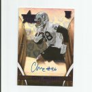 Clive Walford 2016 Panini Rookies and Stars Rookie Autograph #RSCW (17/50) Oakland Raiders