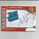 Jared Sullinger 2012-13 Donruss Rated Rookie Autographed Patch #20 (43/50) Boston Celtics