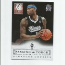 DeMarcus Cousins/Vlade Divac 2013-14 Panini Elite Passing the Torch #19 Sacramento Kings