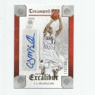 C.J. McCollum 2015-16 Panini Excalibur Treasured Ink Auto #TICJM (173/199) Portland Trailblazers