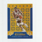 Patrick Ewing 2015-16 Panini Excalibur Crusade Blue Insert #3 (028/199) New York Knicks