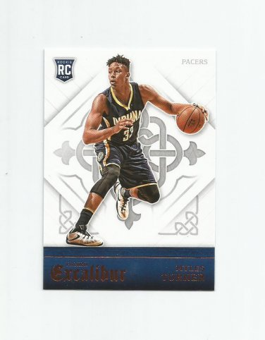 Myles Turner 2015-16 Panini Excalibur Rookie #166 Indiana Pacers