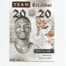Damian Lillard 2015-16 Panini Excalibur Team 20/20 Insert #4 Portland Trailblazers