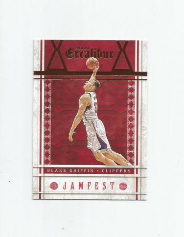 Blake Griffin 2015-16 Panini Excalibur Jamfest Insert #5 Los Angeles Clippers