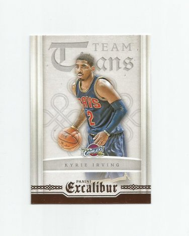 Kyrie Irving 2015-16 Panini Excalibur Team Titans Insert #7 Cleveland Cavaliers