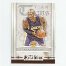 Kobe Bryant 2015-16 Panini Excalibur Team Titans Insert #10 Los Angeles Lakers