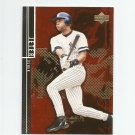 Derek Jeter 2000 Upper Deck Black Diamond Rookie Edition Red Foil Parallel #40 New York Yankees