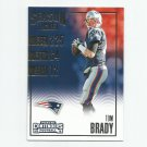 Tom Brady 2016 Panini Contenders Season Ticket #58 New England Patriots