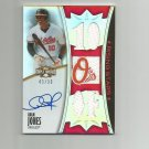 Adam Jones 2010 Topps Triple Threads Jersey Auto #128 (43/99) Baltimore Orioles