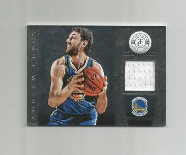 Andrew Bogut 2013-14 Panini Totally Certified Patch #94 Golden State Warriors
