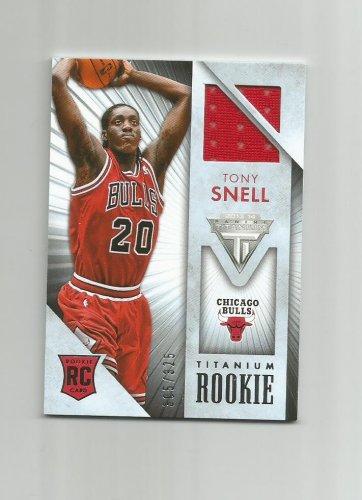 Tony Snell 2013-14 Panini Titanium Rookie Patch #37 (305/325) Chicago Bulls