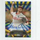 Aaron Nola 2016 Topps Chrome Youth Impact Rookie Auto #YIAAN (002/150) Philadelphia Phillies