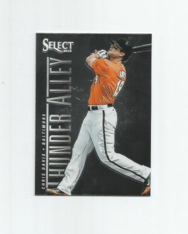 Chris Davis 2013 Panini Select Thunder Alley Insert #TA8 Baltimore Orioles