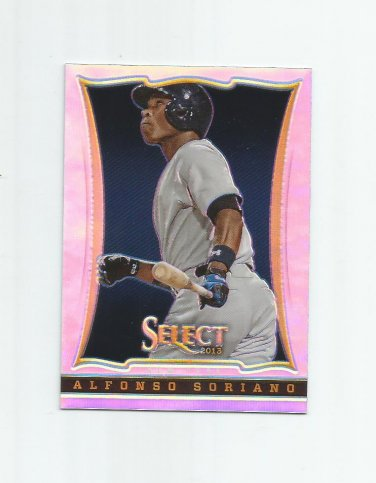Alfonso Soriano 2013 Panini Select Prizm Refractor #60 New York Yankees