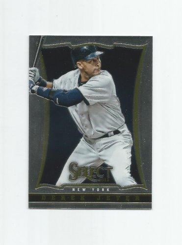 Derek Jeter 2013 Panini Select #5 New York Yankees