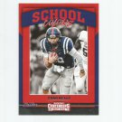 Chad Kelly 2017 Panini Contenders Draft Picks School Colors Rookie Insert #13 Denver Broncos