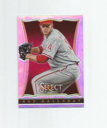 Roy Halladay 2013 Panini Select Prizm Refractor #41 Philadelphia Phillies