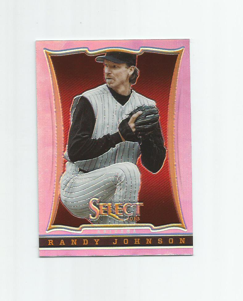 Randy Johnson 2013 Panini Select Prizm Refractor #122 Arizona Diamondbacks
