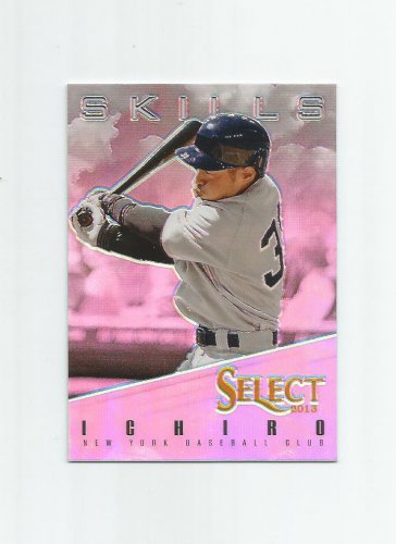Ichiro 2013 Panini Select Skills Prizm Refractor #SK33 New York Yankees