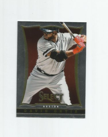 David Ortiz 2013 Panini Select #52 Boston Red Sox