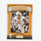 Alvin Kamara 2017 Panini Contenders Draft Picks School Colors Rookie Insert #11 New Orleans Saints