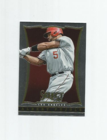 Albert Pujols 2013 Panini Select #94 Los Angeles Angels of Anaheim