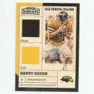 Brett Favre 2017 Panini Contenders Old School Colors Insert #7 Green Bay Packers