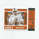 Brad Kaaya 2017 Panini Contenders Draft Picks Game Day Ticket Rookie Insert #6 Detroit Lions
