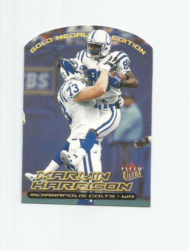 Marvin Harrison 2000 Fleer Ultra Gold Medallion Insert #73G Indianapolis Colts