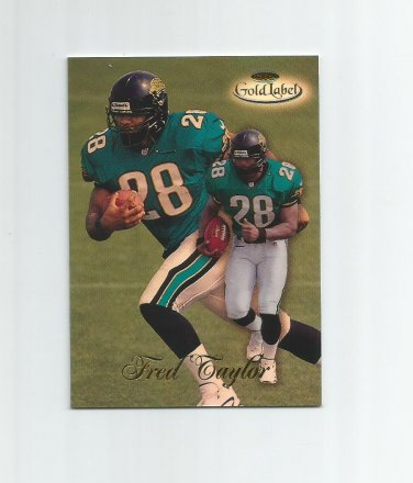 Fred Taylor 1998 Topps Class 1 Gold Label Rookie #17 Jacksonville Jaguars