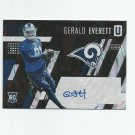 Gerald Everett 2017 Panini Unparalleled Rookie Auto #220 (190/199) Los Angeles Rams