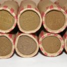 1957 D Wheat Penny Roll
