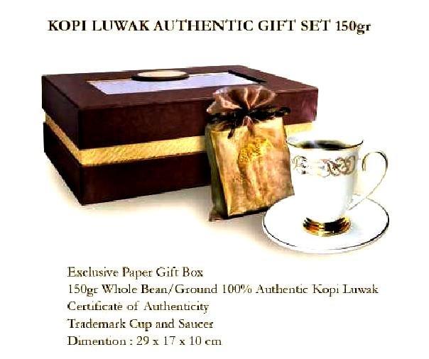 100% Authentic Kopi Luwak (Roasted)