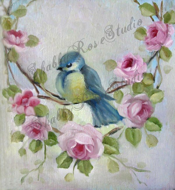 Garland Blue Bird