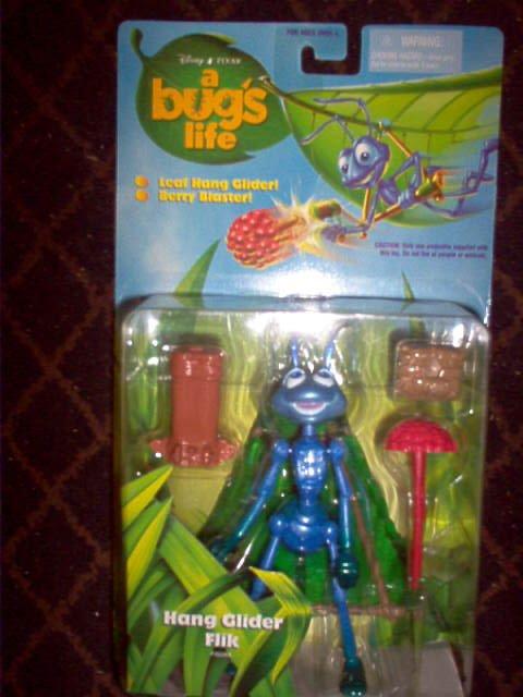A Bugs Life - Disney Pixar - Hang Glider Flik Action Figure