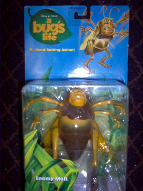 A Bugs Life - Disney Pixar - Enemy Molt Action Figure