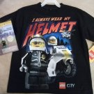 Lego City Boys T-Shirt Size 6/7 with Bonus