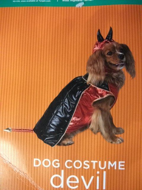 Dog Costume Devil - Size S